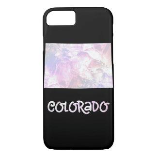 CO Colorado State Iridescent Opalescent Pearly iPhone 8/7 Case