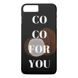 Co  For You Coconut Illustration Phone Case