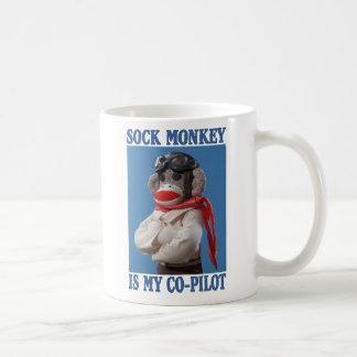 Co-Pilot Monkey Mug