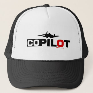 Co-Pilot: Overnight Flight Trucker Hat