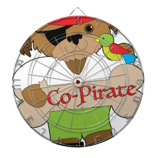 Co-Pirate Dog Dartboard