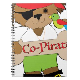 Co-Pirate Dog Notebook