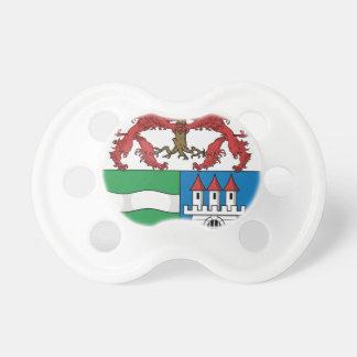 Coa_Hungary_County_Arad_(history) Baby Pacifier