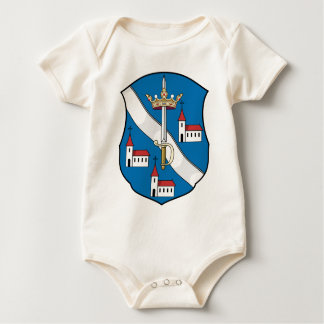 Coa_Hungary_County_Bars_(history) Baby Bodysuit