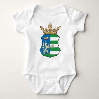 Coa_Hungary_County_Békés_(history) Baby Bodysuit