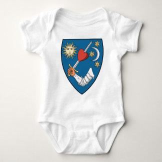 Coa_Hungary_County_Háromszék_(history)_v2 Baby Bodysuit