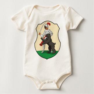 Coa_Hungary_County_Komárom_(history) Baby Bodysuit