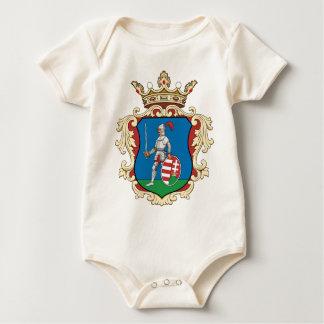 Coa_Hungary_County_Nógrád_(history)_v2 Baby Bodysuit