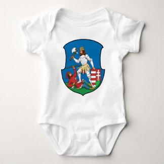 Coa_Hungary_County_Nyitra_(history) Baby Bodysuit