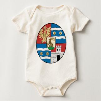 Coa_Hungary_County_Varasd_(history) Baby Bodysuit