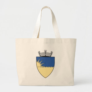 Coa_Romania_Town_Eforie Large Tote Bag
