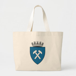 Coa_Romania_Town_Slănic_History_Unapproved Large Tote Bag