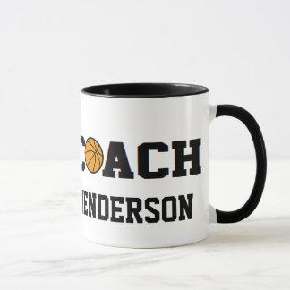 Coach- Basketball - Personalized Mug