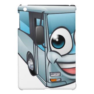 Coach Bus Cartoon Character Mascot iPad Mini Cases