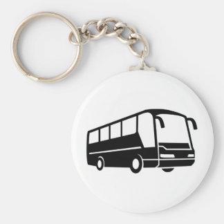 Coach bus key ring