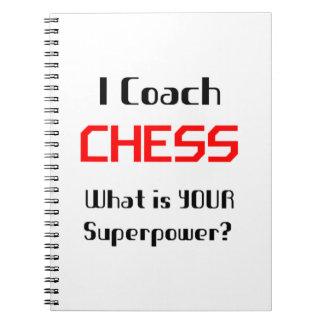 Coach chess notebook