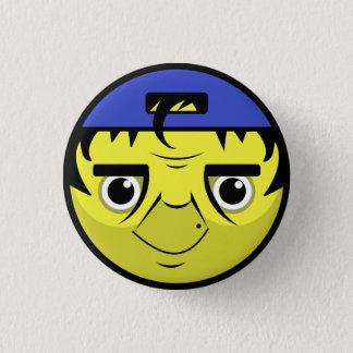 Coach Face 3 Cm Round Badge
