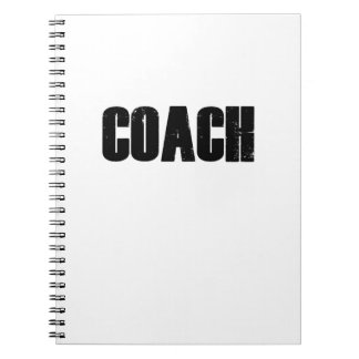 Coach - Men Women Coaches Sport Notebook