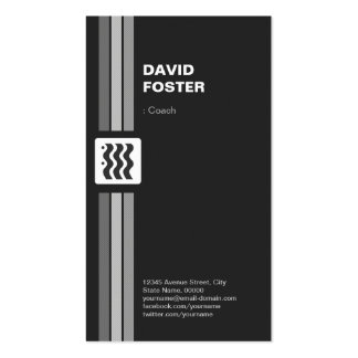 Coach - Premium Double Sided Business Card Template