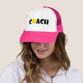 Coach Softball Trucker Hat Cap (Navy Blue)