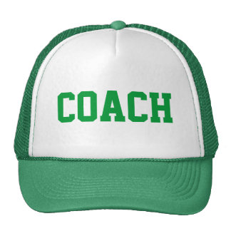 COACH Trucker Hat {Green}