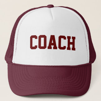 COACH Trucker Hat {Maroon}