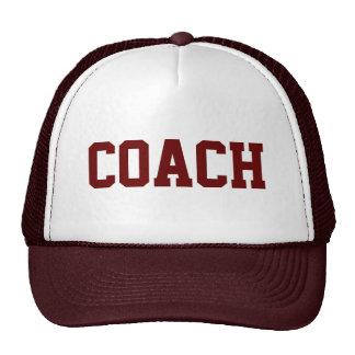 COACH Trucker Hat {Maroon}