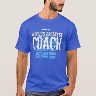 COACH World's Greatest Custom Name T-Shirt