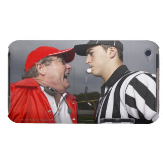 Coach Yelling at Referee iPod Case-Mate Case