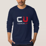 CoachUp Navy LS T-Shirt by American Apparel