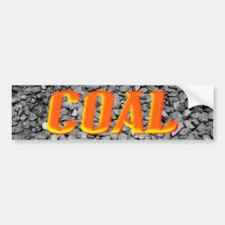 Coal Bumper Sticker