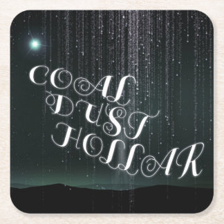 Coal Dust Hollar Band Coaster