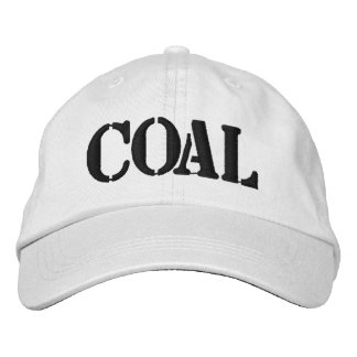 Coal Embroidered Hat