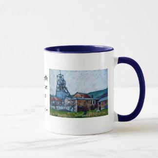 Coal Mine 'Big Pit, Blaenavon' Wales Mug