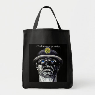 Coal Miner's Grocery Tote