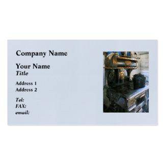 Coal Stove Business Card Templates