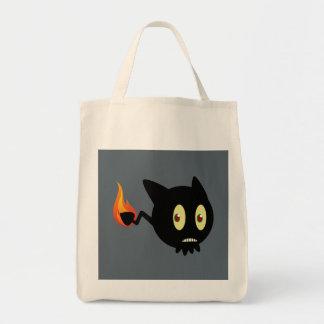 Coal Tar Grocery Tote Bag