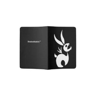 Coal the Shadow Rabbit Passport Holder