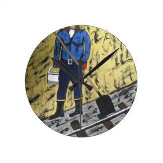 Coalminer's Daughter Wall Clocks