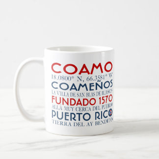 Coamo, Puerto Rico Coffee Mug