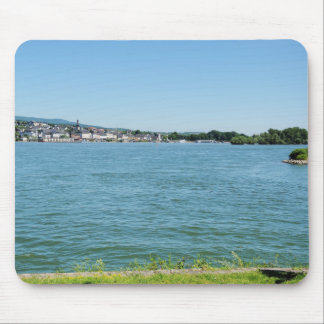 Coarse home on the Rhine Mouse Pad