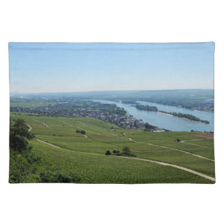 Coarse home on the Rhine Placemat