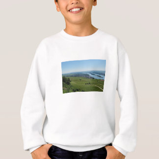 Coarse home on the Rhine Sweatshirt