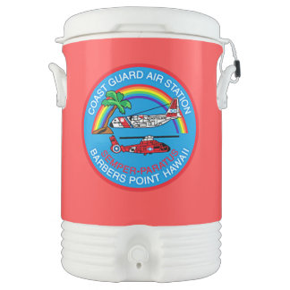 Coast Guard Air Station Barbers Point Hawaii Cooler
