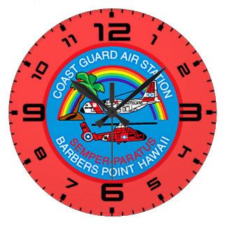 Coast Guard Air Station Barbers Point Hawaii Wallclock
