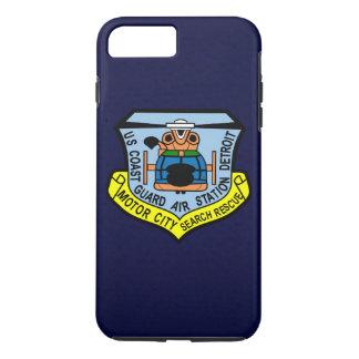 """Coast Guard Air Station Detroit  """"Navy Blue"""" iPhone 7 Plus Case"""