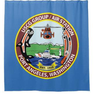 Coast Guard Air Station Port Angeles Shower Curtain