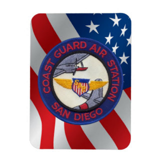 Coast Guard Air Station San Diego Magnet