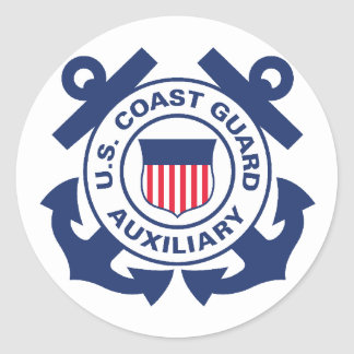 Coast Guard Auxiliary Sticker
