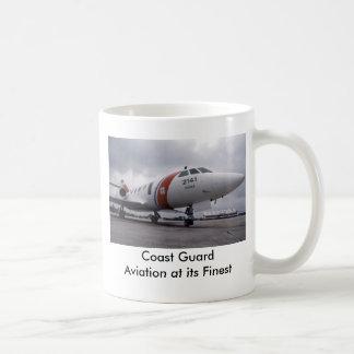 Coast Guard   Aviation at its Finest Basic White Mug